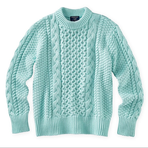 Mint Knit Sweater